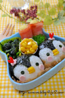 ペンギンちゃんのお弁当