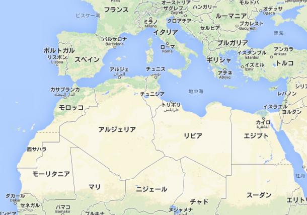 1221モロッコ地図