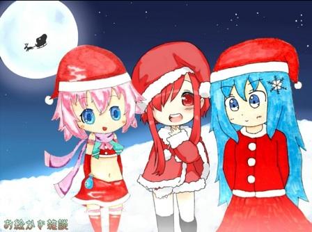 合作絵 (クリスマス)