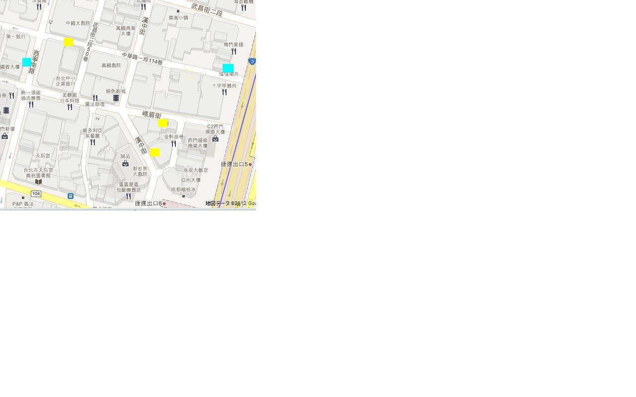 西門町MAP