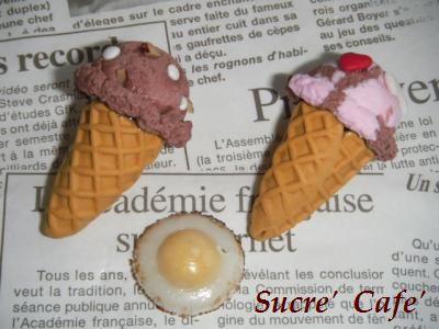 miniアイスクリーム②