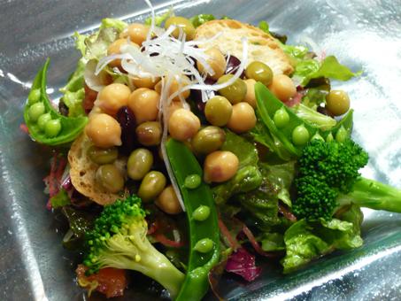 1豆まめサラダ