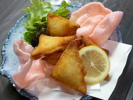 2白身魚カマン