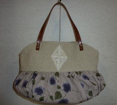 バルーン紫花