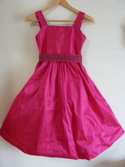 ピンクドレス前