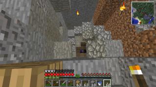 マイクラ洞窟2
