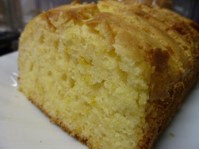 柚子のパウンドケーキ