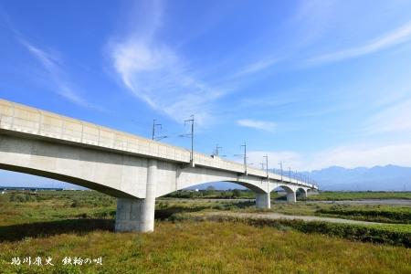 北陸新幹線 常願寺川橋梁