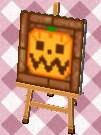 ハロウィンレンガ(かぼちゃ)