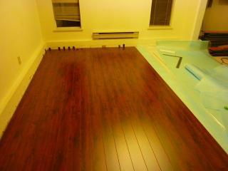 新床板張り6