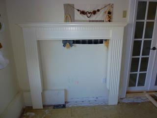 暖炉解体1
