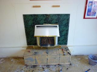 暖炉解体2
