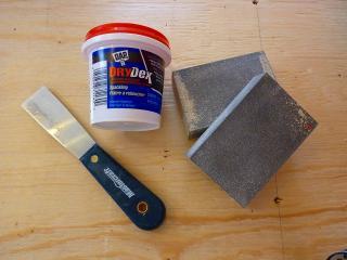 石膏ボード補修材1