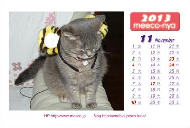 カレンダー2013_11