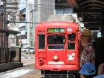 長崎市電ラッピング