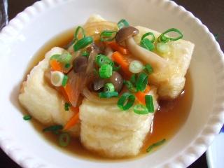 揚げ出し豆腐0517