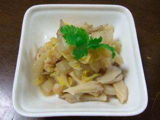 白菜の煮浸し0531