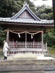 多久神社本殿