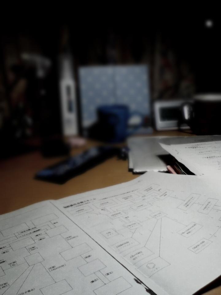 テスト勉強中・・・