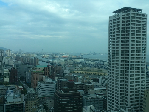 view from kobe cityhall