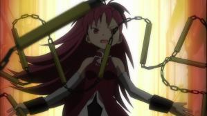 魔法少女まどか☆マギカ 路地裏の戦闘