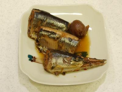 131005サンマの香梅煮 (3)