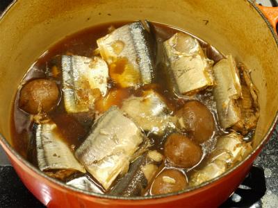 131005サンマの香梅煮 (2)
