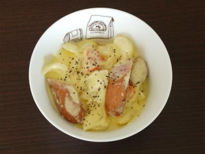 131014カルボナーラ風スープ (4)