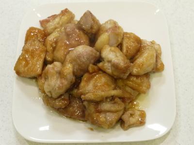 131117鶏モモ生姜焼き (2)