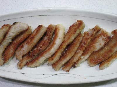 131208豚トロのパン粉焼き (2)