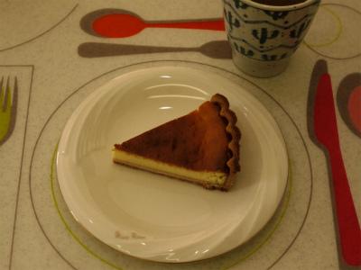 131215ベークドチーズケーキ (8)