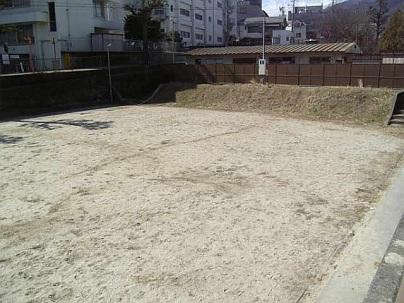 市民プール跡