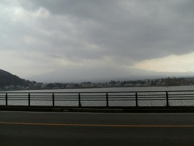 富士を覆う黒雲