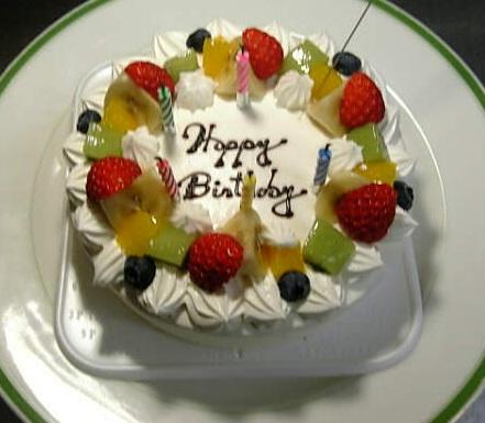 ノエルさんのバースデーケーキ