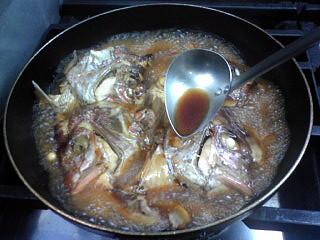 鯛・かぶと煮
