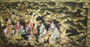 十六羅漢図(袈裟)3