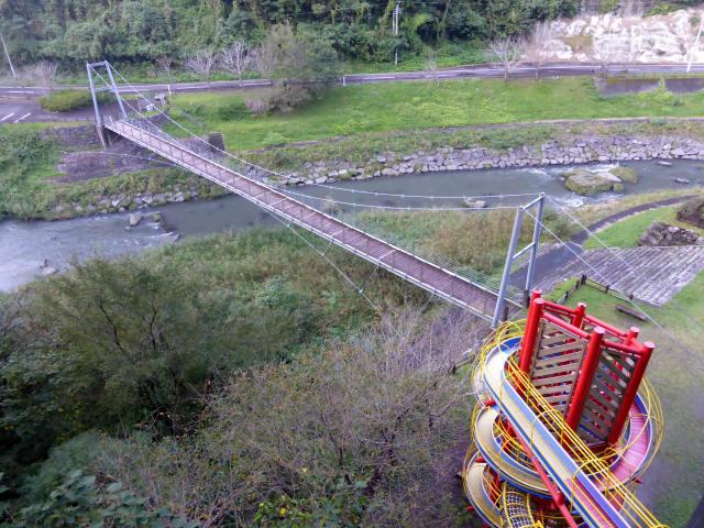 神之川小吊橋1