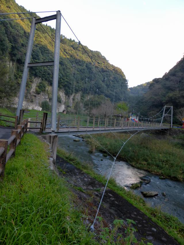 神之川小吊橋9