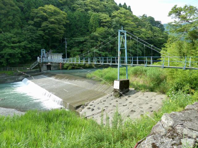 切杭の吊橋1