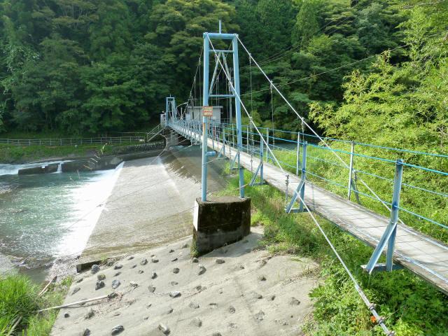 切杭の吊橋2