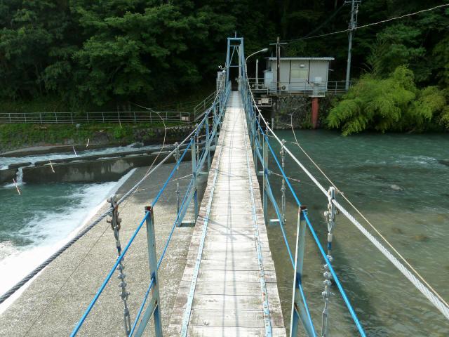 切杭の吊橋5