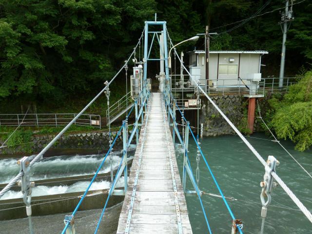 切杭の吊橋6
