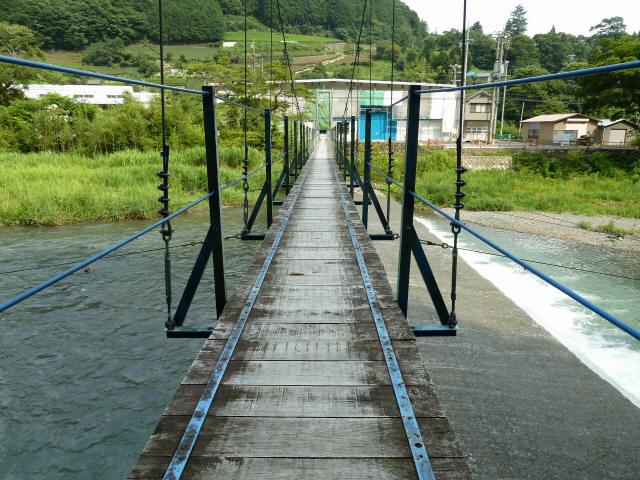 切杭の吊橋8