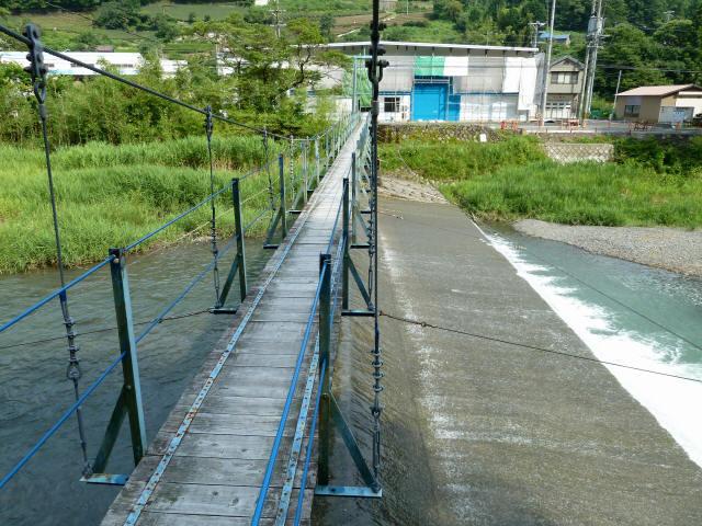 切杭の吊橋9