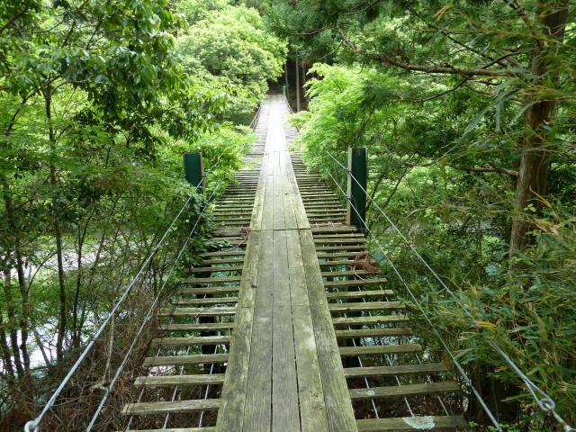 Image result for 野々垣内の吊橋