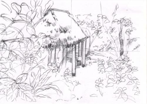 夢の島植物館ラフ
