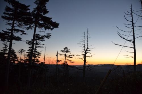 夜明けの御岳2