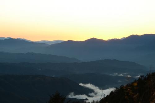 夜明けの御岳3