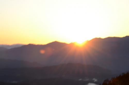 夜明けの御岳4
