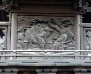 加茂神社 本殿彫刻 中